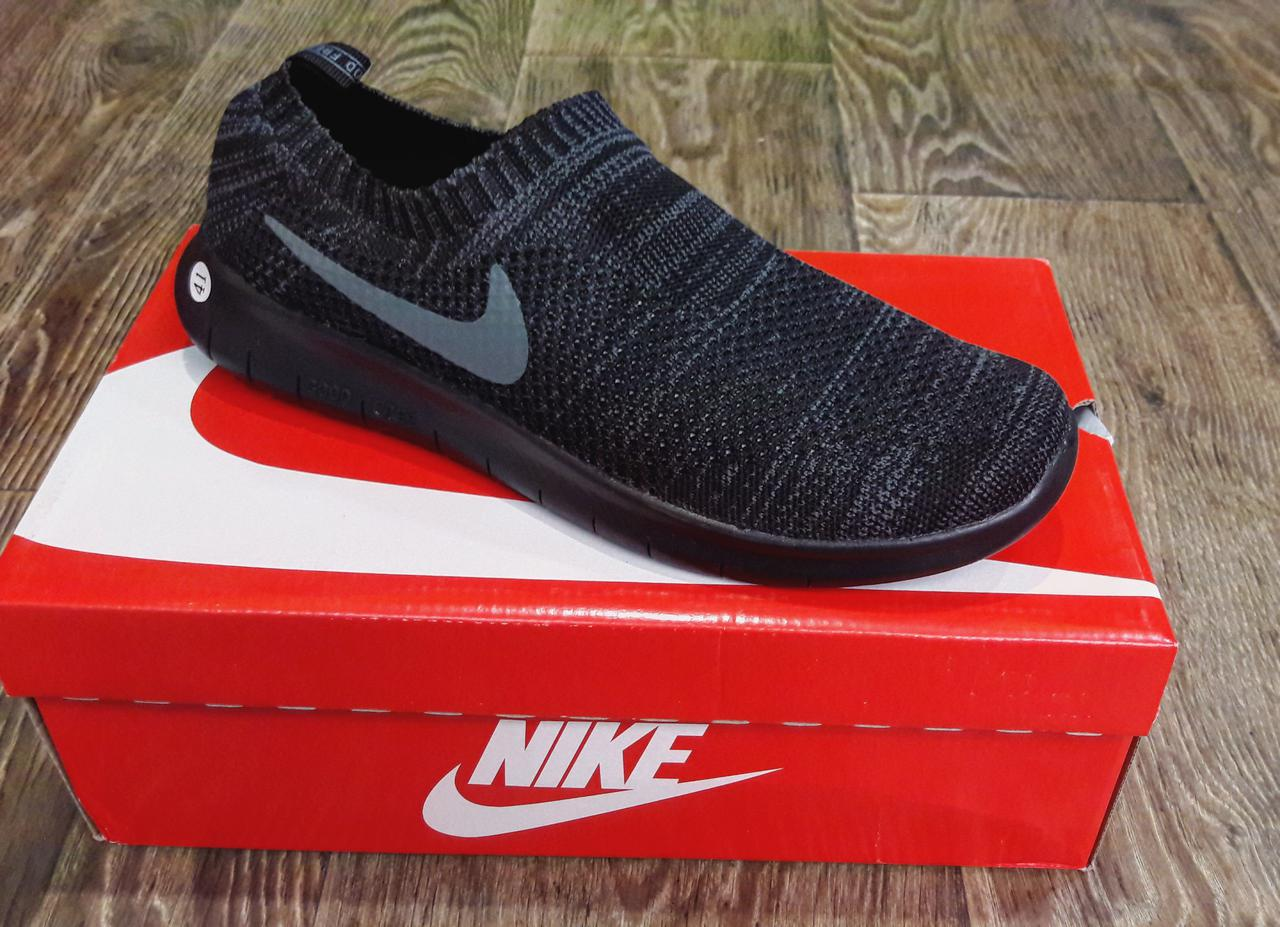 91e027525579 Кроссовки мужские слипоны Nike без шнурка реплика - Big City Shop в Одессе
