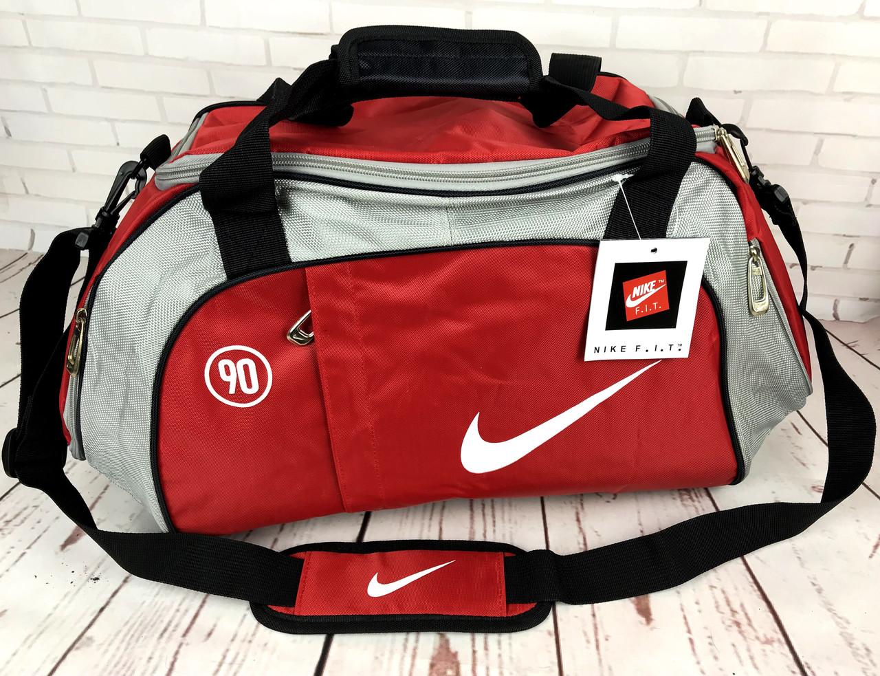 002f4e1c83fb Спортивная сумка NIKE Красная КСС56 - интернет-магазин