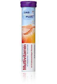 Витамины растворимые в таблетках DM Das Gesunde Plus Multivitamin 82г, фото 2