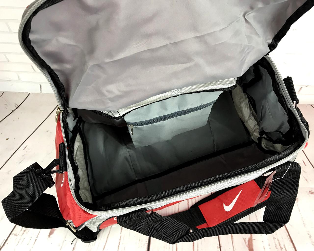 aff49671227a Спортивная сумка NIKE Красная КСС56, цена 459 грн., купить в Бердянске —  Prom.ua (ID#707979210)