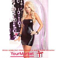 Сексуальное черное клубное мини платье с открытым плечами