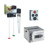 Автоматика Faac 540 (230В) для гаражных секционных ворот, площадью 25м2