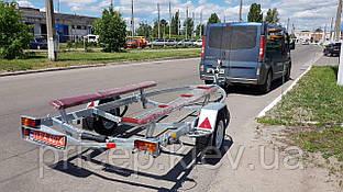 Прицеп для лодки ПВХ длиной 4,5м