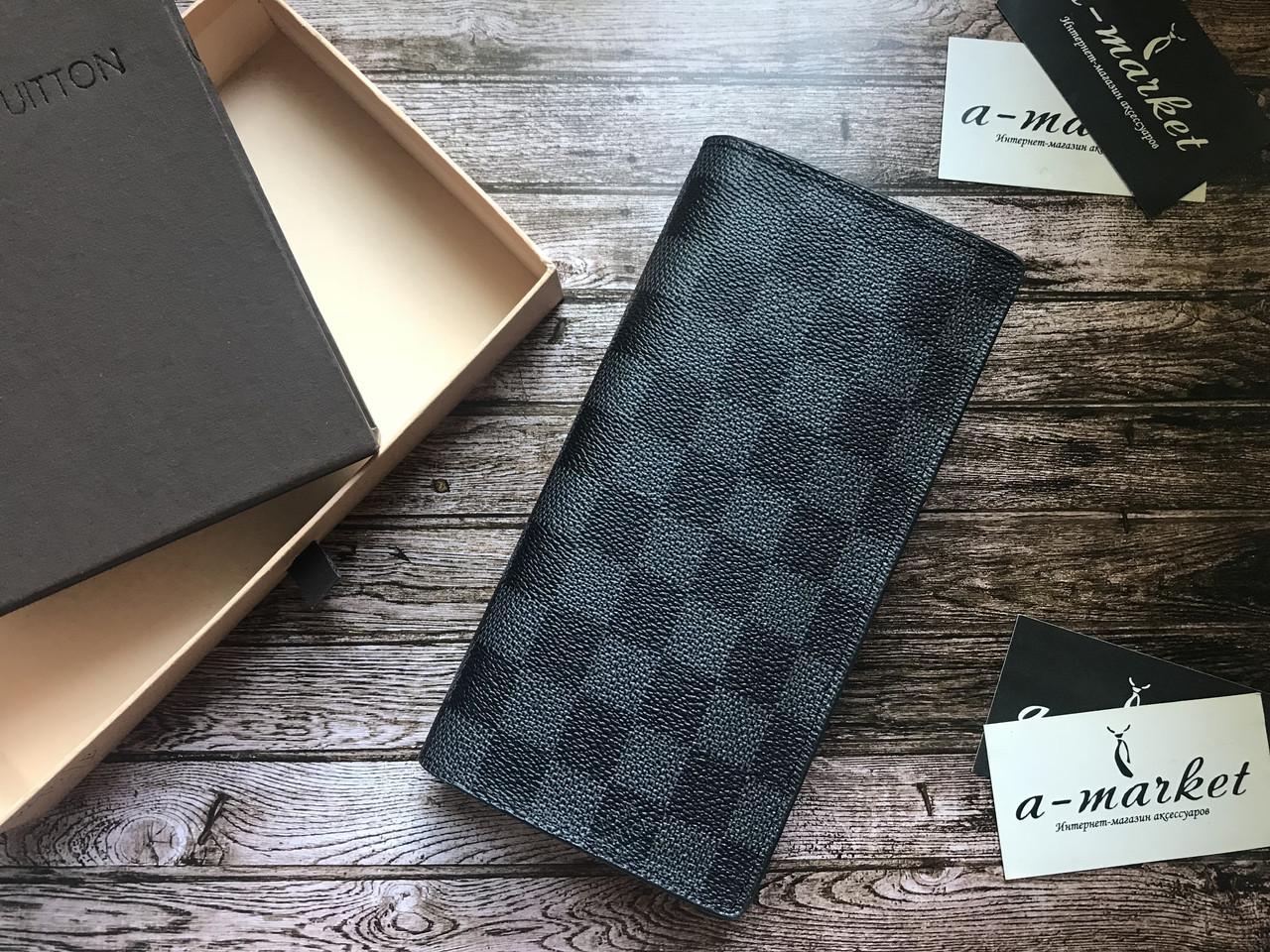 0944ac93c0fb Органайзер кошелек клатч портмоне бумажник серый мужской женский Louis  Vuitton премиум реплика - AMARKET - Интернет