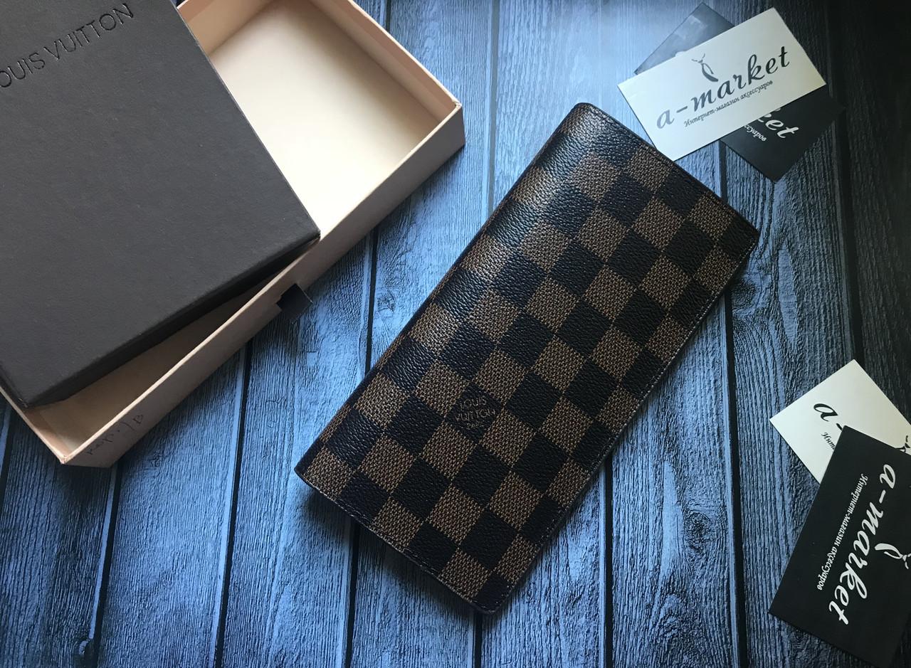037c98c2bf22 Органайзер кошелек клатч портмоне бумажник коричневый мужской женский Louis  Vuitton премиум реплика - AMARKET - Интернет