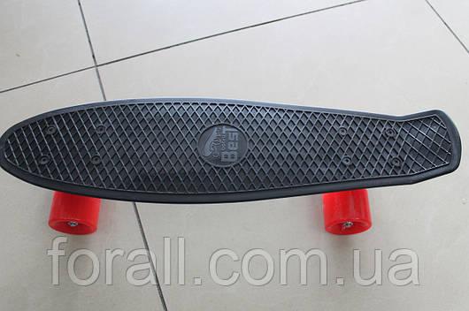 Скейт Пенни борд (Penny board) 693чер без света 55см.