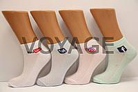 Короткие женские носки патик  х/б Ф8 MONTEBELLO