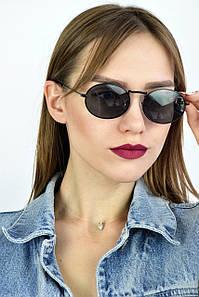 Солнцезащитные очки ретро луна черные