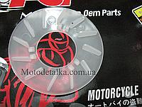 Щека пластиковая переднего вариатора Китаец-50-80 см3.