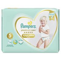 Подгузники-трусики Pampers Premium Care Junior 5 (12-17 кг), 34 шт.