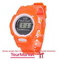Наручные спортивные Электронные часы LCD Shock Resist Ultimate Sport
