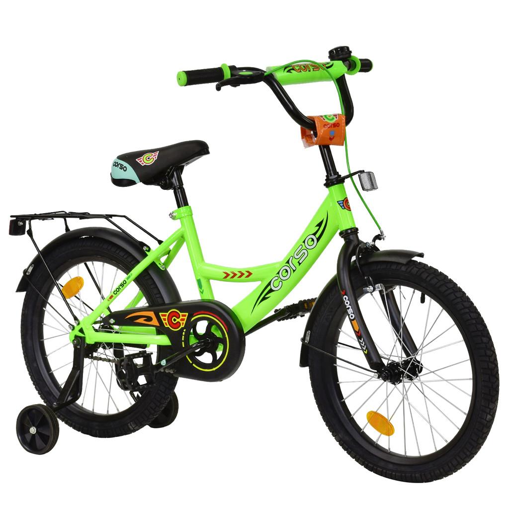 Велосипед CORSO Салатовый С-18590