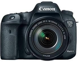 Цифр. фотокамера зеркальная Canon EOS 7D Mark II + Объектив 18-135 IS USM + WiFi адаптер W-E1