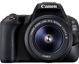 Зеркальная Canon EOS 200D [kit 18-55 DC III]