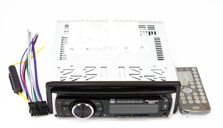 Магнитола DVD автомобильная  USB+SD+AUX+FM Pioneer DEH 8400UBG