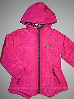 Курточка демисезонная на меховой подкладке для девочек Cross Fire , 1 лет. [1 год]