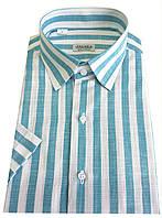 Мужская рубашка с коротким рукавом №10/3  - 6641 V3, фото 1
