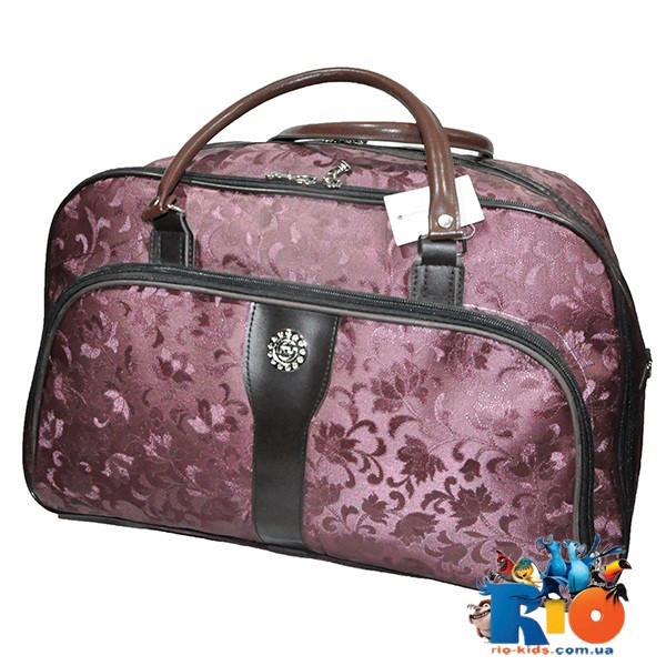 Школьная сумка (50х32 см) для девочек из прорезиненного материала(мин.заказ-1 ед)