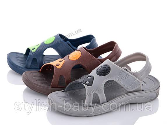 Детская коллекция летней обуви 2018. Детские босоножки бренда Sanlin для мальчиков (рр. с 26 по 29), фото 2