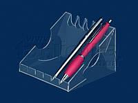 Підставка для ручок і олівців, акрил 1,8 мм