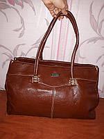Вместительная коричневая сумка Gucci, фото 1