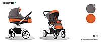 """Детская универсальная  коляска 2 в 1 """"Bebetto"""" LUCA (SL28), терракотовая"""