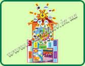 Стенд Уголок природы Мельница для детских садиков 00355