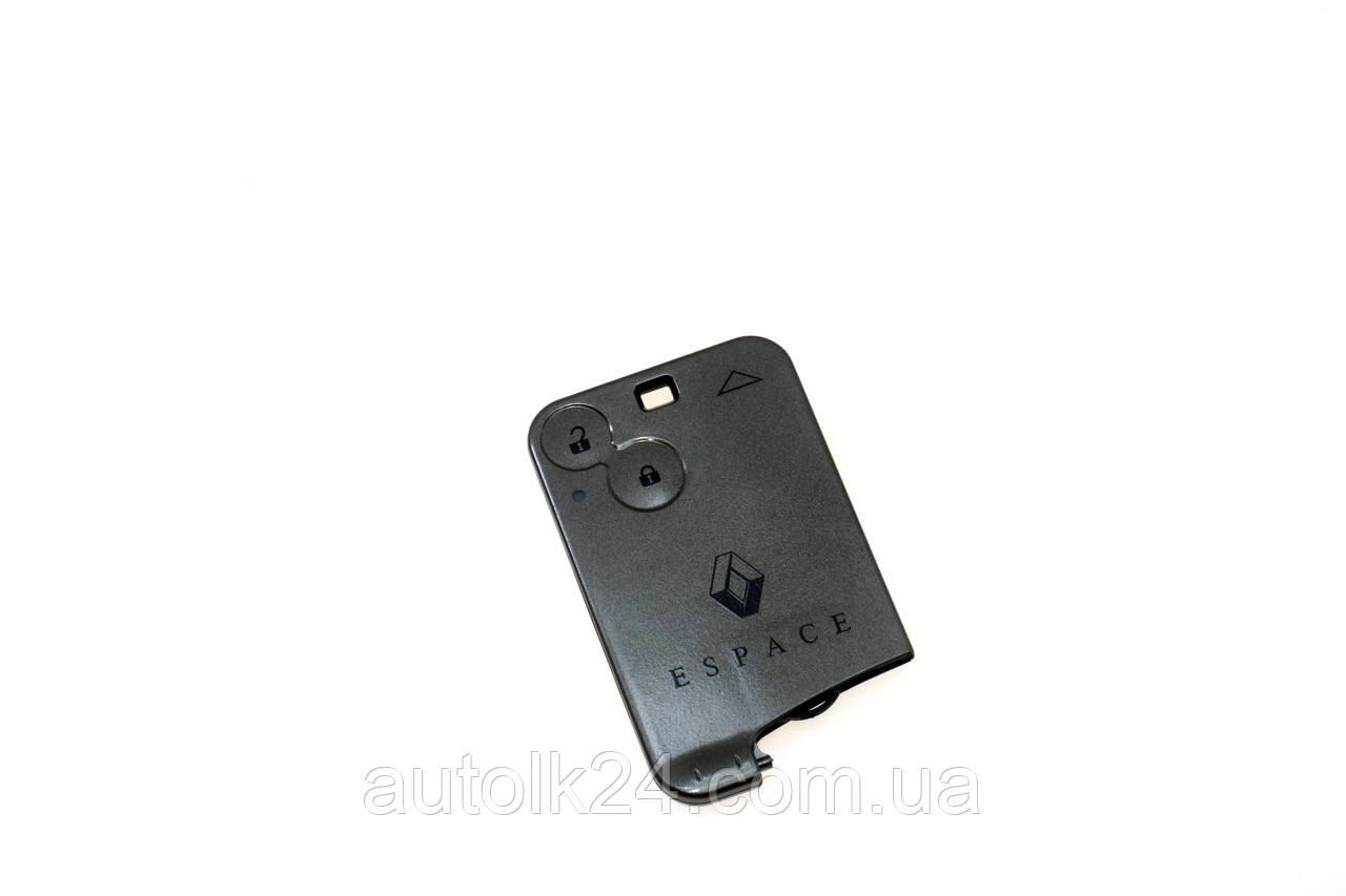 Корпус смарт карты Renault Espace(Рено Эспейс) 2 кнопки (без лезвием)