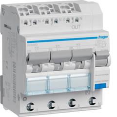 Автоматические выключатели, УЗО, модульные контакторы