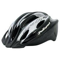 Велошлем Polisport Myth 52-56 (M) черный, фото 1
