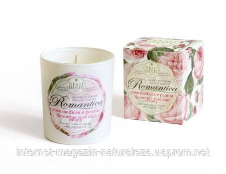Ароматическая свеча Nesti Dante Роза и пион