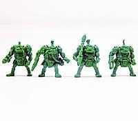 Бригада Гулрог Битвы Fantasy набор воинов (цвет зелёный), Технолог (312)
