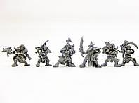 Пираты пыльного облака с планеты Тортуга Бронепехота набор воинов (цвет металл), Технолог (534)