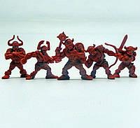 Рота Норман Битвы Fantasy набор воинов (цвет красно-оранжевый), Технолог (381)