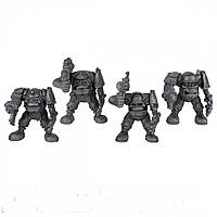 Гоблин-рота Питон Битвы Fantasy набор воинов (цвет металлик), Технолог (657)