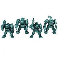 Гоблин-рота Удав Битвы Fantasy набор воинов (цвет зелёный металлик), Технолог (596)