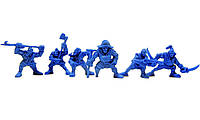 Штурм-Корпус Нептун Битвы Fantasy набор воинов (цвет синий), Технолог (411)