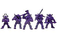 Рота Варяг Битвы Fantasy набор воинов (цвет сиреневый), Технолог (374)
