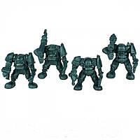Гоблин-рота Питон Битвы Fantasy набор воинов (цвет зелёный металлик), Технолог (589)