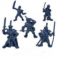 Гренадёры Батальон Бородино Битвы Fantasy набор воинов (цвет синий металлик), Технолог (619)
