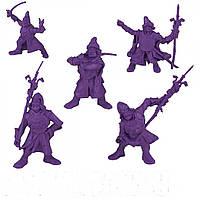 Дружина Пушкари Битвы Fantasy набор воинов (цвет фиолетовый), Технолог (626)