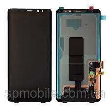 Дисплей Samsung N950 Galaxy Note 8 з сенсором Чорний Black оригінал, GH97-21065A1