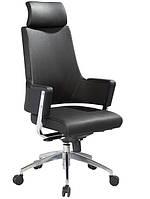 Кресло руководителя офисное Аризона, высокая спинка, цвет черный