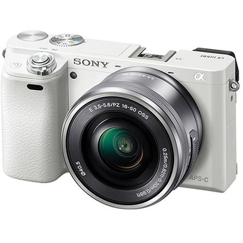 Системная Sony Alpha 6000 [Kit 16-50 White]