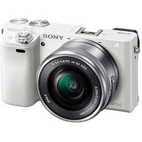 Системная Sony Alpha 6000 [Kit 16-50 White], фото 2
