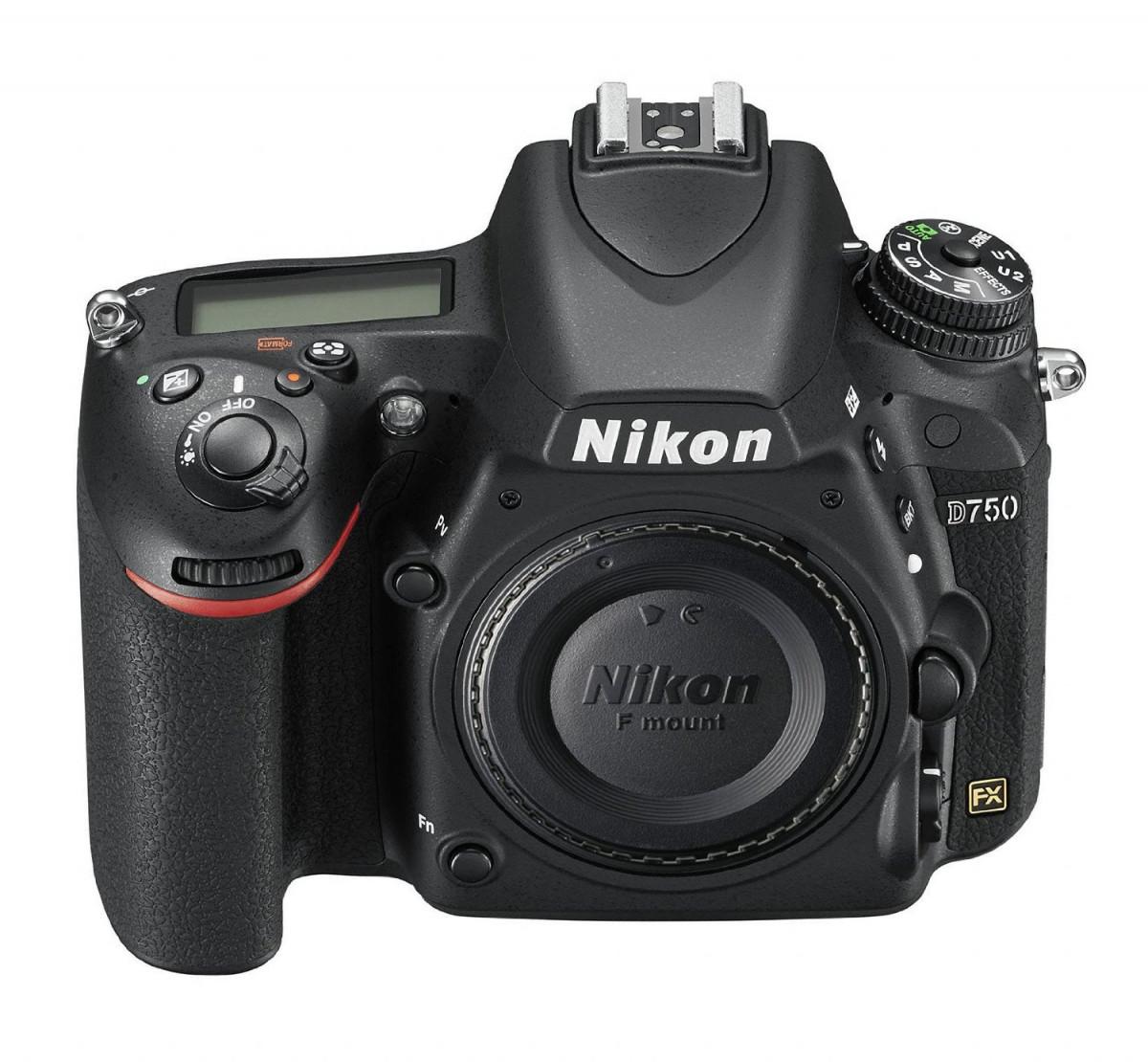 Зеркальная Nikon D750 [body]