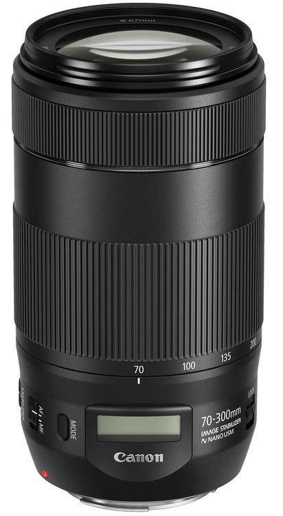 Зум Canon EF 70-300mm f/4-5.6 IS II USM