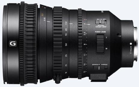 Sony E Sony 18-110mm, f/4.0 G Power Zoom