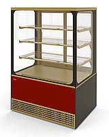Витрина холодильная VS-1,3 VENETO CUBE (стеклопакеты) МХМ