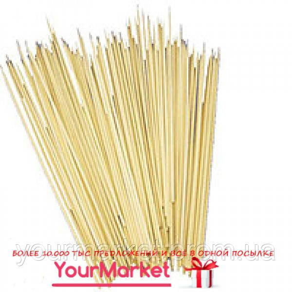 72033 ПМ, Палочка бамбуковая D=2,5мм 200 мм уп/100 шт